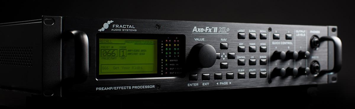 Fractal Audio Axe-Fx II XL Plus Preamplifier Quantum Drivers Update