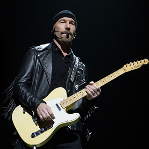 The Edge is known for his signature sound—a combination of musical elegance, exquisite core tone, and innovative effects—especially echo. For him to trust this illustrious sonic asset to the Axe-Fx expresses that it meets his exacting needs, but also demonstrates that this guitarist is a veritable force at the forefront of both music and technology. We're proud that he chose to be listed here.
